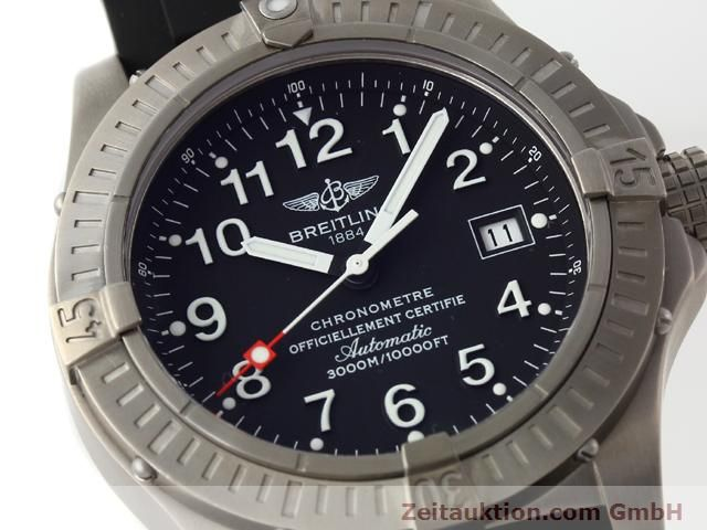 Used luxury watch Breitling Avenger titanium automatic Kal. ETA 2824-2 Ref. E17370  | 140987 02