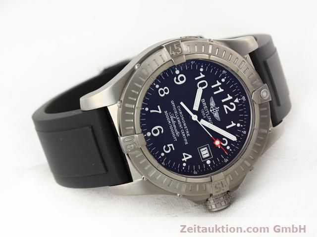 Used luxury watch Breitling Avenger titanium automatic Kal. ETA 2824-2 Ref. E17370  | 140987 03