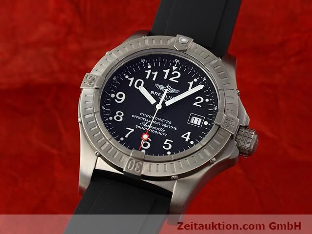 Used luxury watch Breitling Avenger titanium automatic Kal. ETA 2824-2 Ref. E17370  | 140987 04