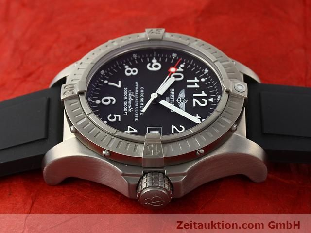 Used luxury watch Breitling Avenger titanium automatic Kal. ETA 2824-2 Ref. E17370  | 140987 05