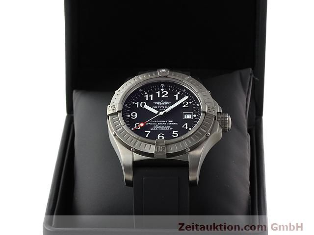 Used luxury watch Breitling Avenger titanium automatic Kal. ETA 2824-2 Ref. E17370  | 140987 07