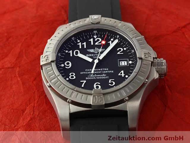 Used luxury watch Breitling Avenger titanium automatic Kal. ETA 2824-2 Ref. E17370  | 140987 13