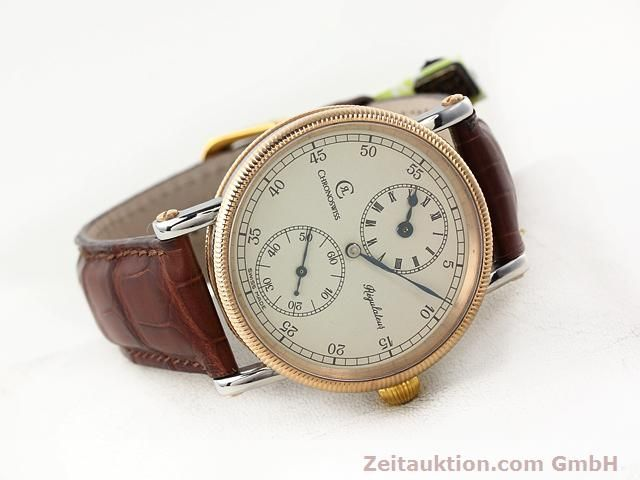 Used luxury watch Chronoswiss Regulateur steel manual winding Kal. U6376 Ref. CH 6326  | 140989 03