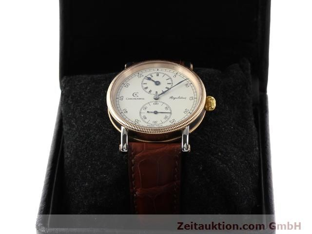 Used luxury watch Chronoswiss Regulateur steel manual winding Kal. U6376 Ref. CH 6326  | 140989 07