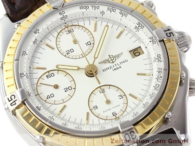 Used luxury watch Breitling Chronomat steel / gold automatic Kal. Valjolux 7750 Ref. 81950D13047  | 140991 02