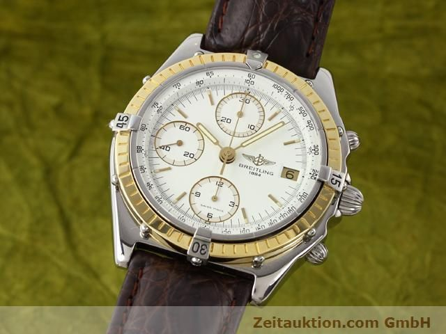 Used luxury watch Breitling Chronomat steel / gold automatic Kal. Valjolux 7750 Ref. 81950D13047  | 140991 04