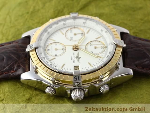 Used luxury watch Breitling Chronomat steel / gold automatic Kal. Valjolux 7750 Ref. 81950D13047  | 140991 05