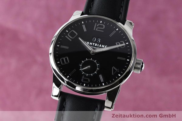 Used luxury watch Montblanc Timewalker steel automatic Kal. 4810906 Ref. 7071  | 140993 04