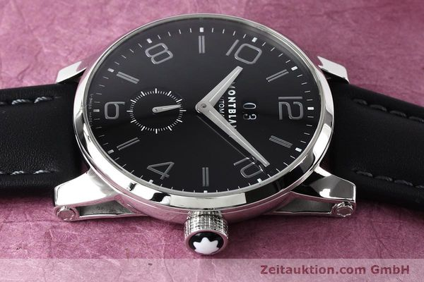 Used luxury watch Montblanc Timewalker steel automatic Kal. 4810906 Ref. 7071  | 140993 05