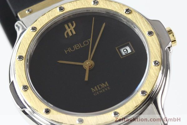 Used luxury watch Hublot MDM steel / gold quartz Kal. ETA 956112 Ref. S139102  | 140995 02