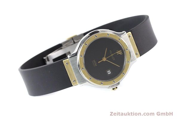 Used luxury watch Hublot MDM steel / gold quartz Kal. ETA 956112 Ref. S139102  | 140995 03