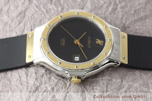 Used luxury watch Hublot MDM steel / gold quartz Kal. ETA 956112 Ref. S139102  | 140995 05