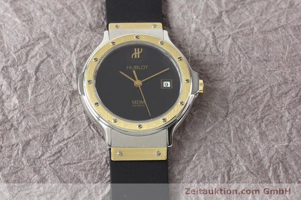 Used luxury watch Hublot MDM steel / gold quartz Kal. ETA 956112 Ref. S139102  | 140995 14