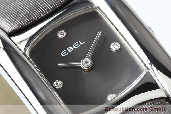 Used luxury watch Ebel Beluga steel quartz Kal. 57 Ref. E9057A21 VINTAGE  | 140996 02