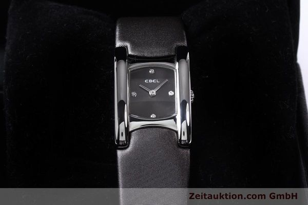 Used luxury watch Ebel Beluga steel quartz Kal. 57 Ref. E9057A21 VINTAGE  | 140996 07
