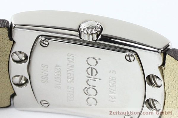 Used luxury watch Ebel Beluga steel quartz Kal. 57 Ref. E9057A21 VINTAGE  | 140996 09