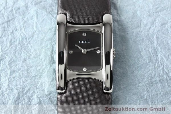 Used luxury watch Ebel Beluga steel quartz Kal. 57 Ref. E9057A21 VINTAGE  | 140996 14