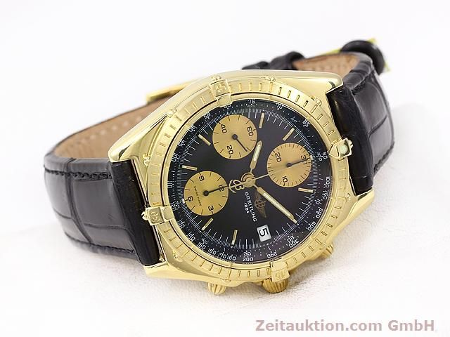 Used luxury watch Breitling Chronomat 18 ct gold automatic Kal. Valj. 7750 Ref. 81950K13047  | 140997 03