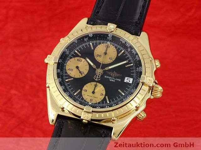 Used luxury watch Breitling Chronomat 18 ct gold automatic Kal. Valj. 7750 Ref. 81950K13047  | 140997 04