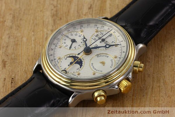 Used luxury watch Maurice Lacroix Croneo gilt steel automatic Kal. ETA 7750 Ref. 02336  | 140998 01