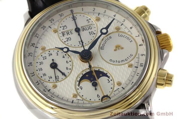 Used luxury watch Maurice Lacroix Croneo gilt steel automatic Kal. ETA 7750 Ref. 02336  | 140998 02