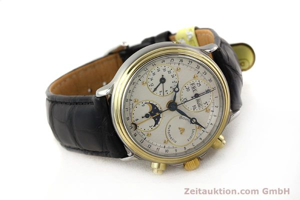 Used luxury watch Maurice Lacroix Croneo gilt steel automatic Kal. ETA 7750 Ref. 02336  | 140998 03