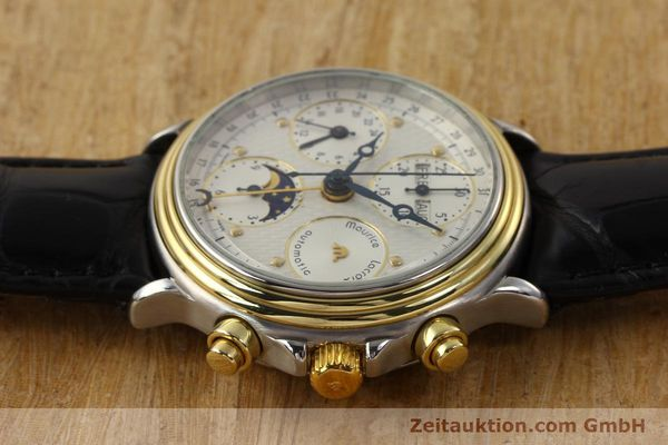 Used luxury watch Maurice Lacroix Croneo gilt steel automatic Kal. ETA 7750 Ref. 02336  | 140998 05