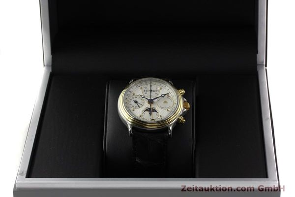 Used luxury watch Maurice Lacroix Croneo gilt steel automatic Kal. ETA 7750 Ref. 02336  | 140998 07