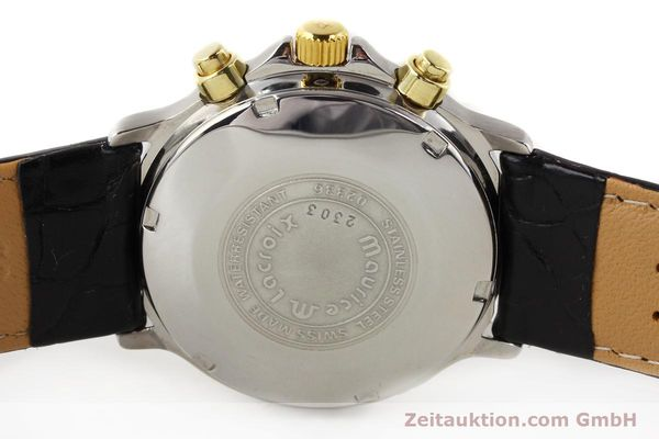Used luxury watch Maurice Lacroix Croneo gilt steel automatic Kal. ETA 7750 Ref. 02336  | 140998 09