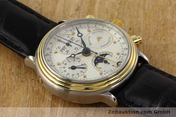 Used luxury watch Maurice Lacroix Croneo gilt steel automatic Kal. ETA 7750 Ref. 02336  | 140998 13
