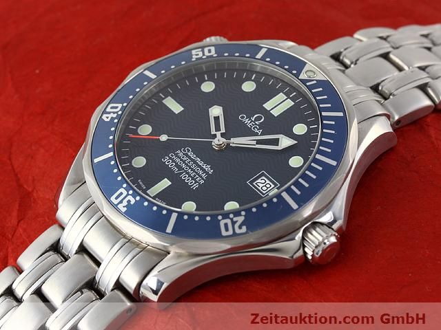 Used luxury watch Omega Seamaster steel automatic Kal. 1120 Ref. 25318000  | 141003 01