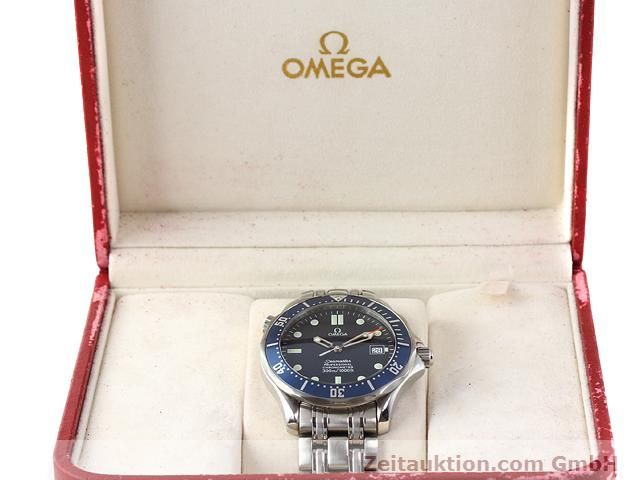 Used luxury watch Omega Seamaster steel automatic Kal. 1120 Ref. 25318000  | 141003 07
