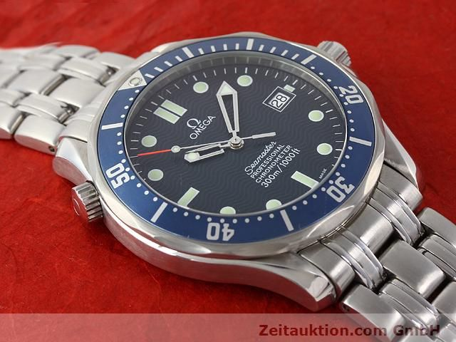 Used luxury watch Omega Seamaster steel automatic Kal. 1120 Ref. 25318000  | 141003 18