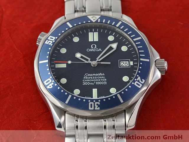 Used luxury watch Omega Seamaster steel automatic Kal. 1120 Ref. 25318000  | 141003 19