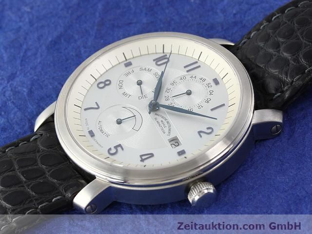 Used luxury watch Mühle Business Timer steel automatic Kal. ETA 2892A2 Ref. M13065  | 141004 01