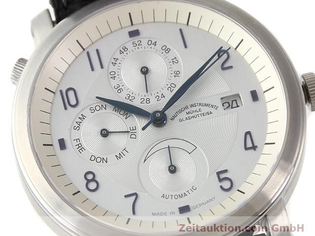 Used luxury watch Mühle Business Timer steel automatic Kal. ETA 2892A2 Ref. M13065  | 141004 02