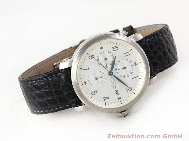 Used luxury watch Mühle Business Timer steel automatic Kal. ETA 2892A2 Ref. M13065  | 141004 03