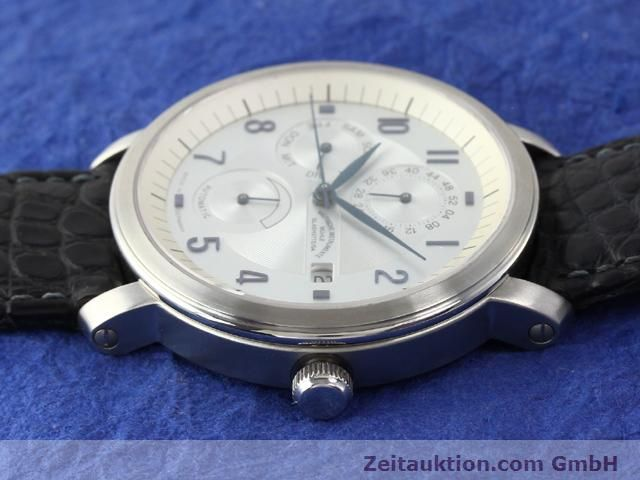 Used luxury watch Mühle Business Timer steel automatic Kal. ETA 2892A2 Ref. M13065  | 141004 05