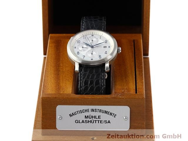 Used luxury watch Mühle Business Timer steel automatic Kal. ETA 2892A2 Ref. M13065  | 141004 07