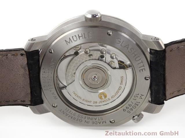 Used luxury watch Mühle Business Timer steel automatic Kal. ETA 2892A2 Ref. M13065  | 141004 09