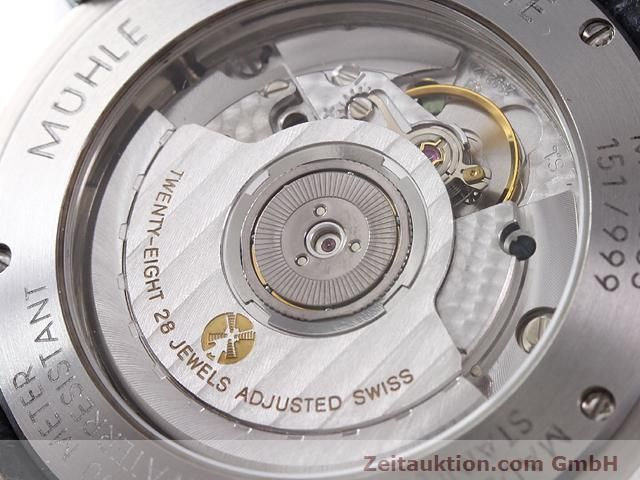 Used luxury watch Mühle Business Timer steel automatic Kal. ETA 2892A2 Ref. M13065  | 141004 10