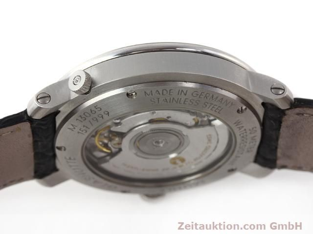 Used luxury watch Mühle Business Timer steel automatic Kal. ETA 2892A2 Ref. M13065  | 141004 12