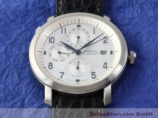 Used luxury watch Mühle Business Timer steel automatic Kal. ETA 2892A2 Ref. M13065  | 141004 15