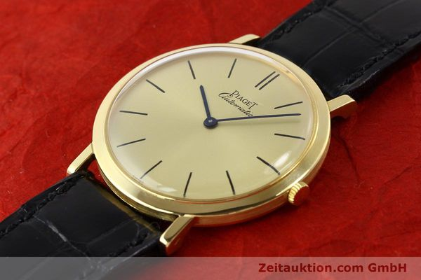 Used luxury watch Piaget * 18 ct gold automatic Kal. 12P Ref. 12603  | 141006 01