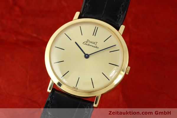 Used luxury watch Piaget * 18 ct gold automatic Kal. 12P Ref. 12603  | 141006 04