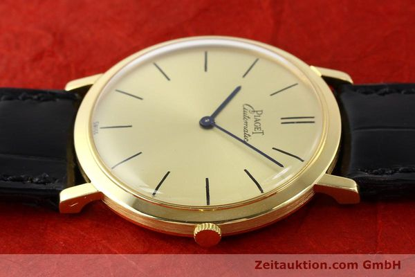 Used luxury watch Piaget * 18 ct gold automatic Kal. 12P Ref. 12603  | 141006 05
