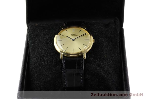 Used luxury watch Piaget * 18 ct gold automatic Kal. 12P Ref. 12603  | 141006 07