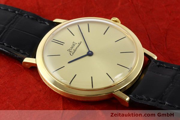 Used luxury watch Piaget * 18 ct gold automatic Kal. 12P Ref. 12603  | 141006 15