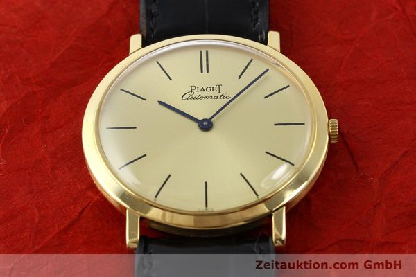Used luxury watch Piaget * 18 ct gold automatic Kal. 12P Ref. 12603  | 141006 16