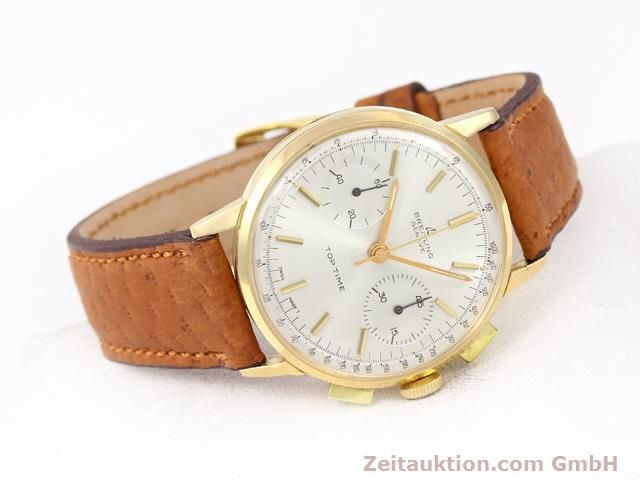 Used luxury watch Breitling Top Time 18 ct gold manual winding Kal. Venus 188  | 141007 03